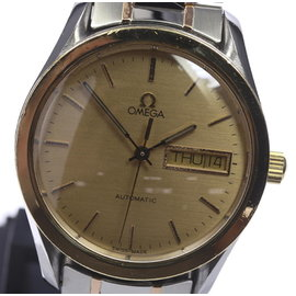 Omega Day and Date Stainless Steel 35.5mm Mens Watch