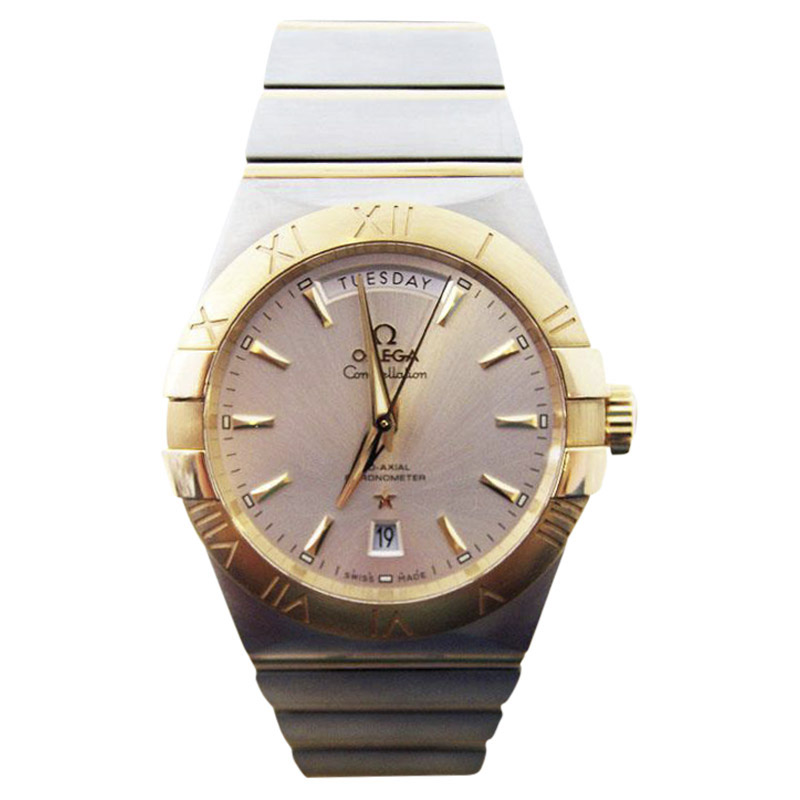 "Image of ""Omega Constellation 123.20.38.22.02.002 Stainless Steel & 18K Yellow"""