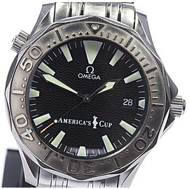 Omega Seamaster 300m 2533.50 Black Dial Automatic 41mm Mens Watch