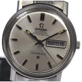 Omega Constellation Chronometer Date-day Stainless Steel Automatic 35mm Mens Watch
