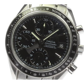 Omega Speedmaster 3210.50 Date Stainless Steel Automatic 39mm Mens Wrist Watch