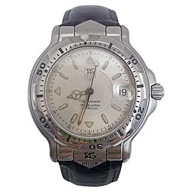 Tag Heuer Chronometer WF5111 Stainless Steel 39mm Mens Watch