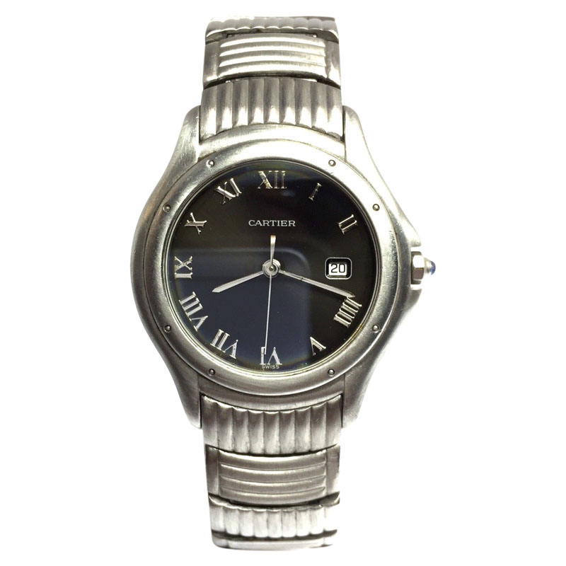 "Image of ""Cartier Stainless Steel Quartz 34mm Unisex Watch"""