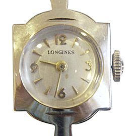 Longines 14K Yellow Gold Hand Winding Vintage 14.5mm Womens Watch