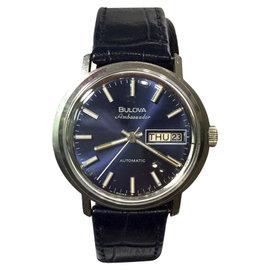 Bulova Ambassador Stainless Steel Automatic 36.5mm Mens Watch
