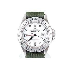 Rolex Explorer II 16570 Stainless Steel 40mm Mens Watch