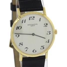 Patek Philippe Calatrava 3512 18K Yellow Gold 31mm Mens Watch