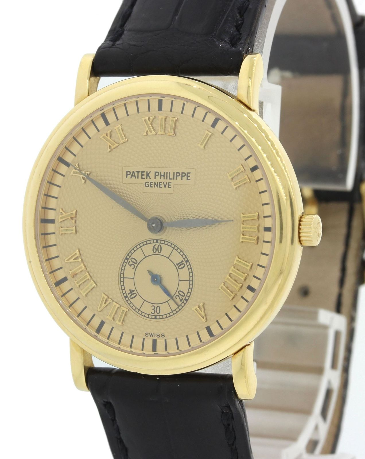 Patek Philippe Calatrava 5022 18K Yellow Gold 33mm Mens Watch