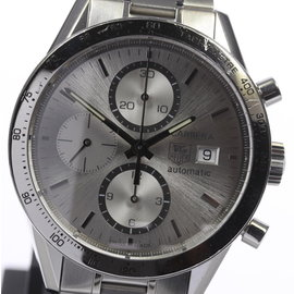 Tag Heuer Carrera CV2017-2 Stainless Steel Automatic 41mm Mens Watch