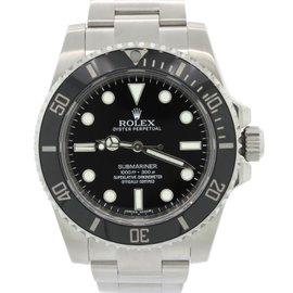 Rolex Submariner 114060 Stainless Steel 40mm Mens Watch