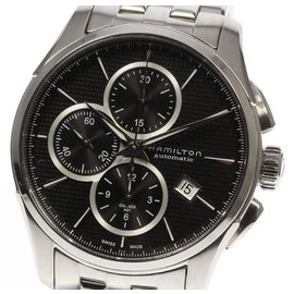 Hamilton Jazzmaster H325960 Stainless Steel Automatic Chronograph 42mm Mens Watch
