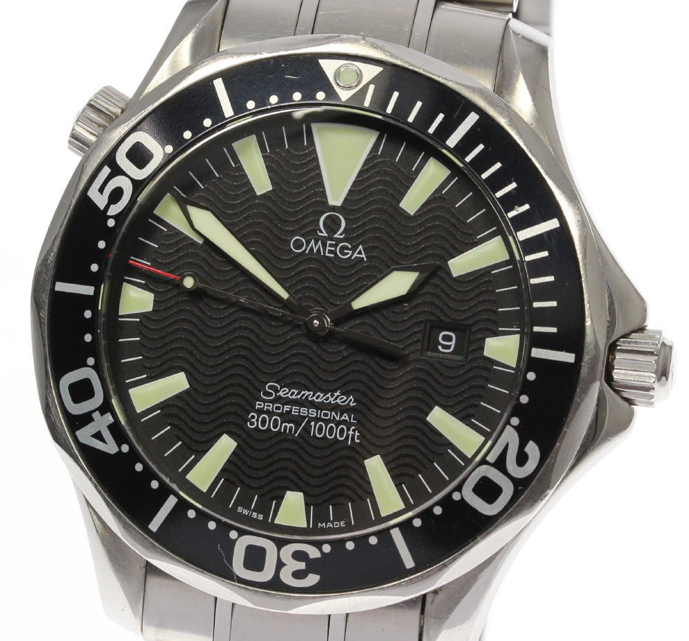 "Image of ""Omega Seamaster 2264.50 Stainless Steel Quartz 41mm Men's Watch"""