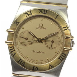 Omega Constellation Stainless Steel/Yellow Gold Quartz 32mm Men's Watch