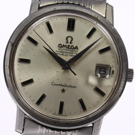 Omega Constellation Stainless Steel Silver Dial Automatic 35mm Men's Watch