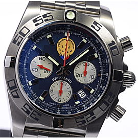 Breitling Chronomat 44 Patrouille De Stainless Steel Automatic 44mm Mens Watch