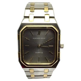 Audemars Piguet 18K Yellow Gold and Stainless Steel Quartz 31.5mm Unisex Watch
