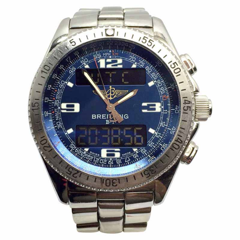 """Image of """"Breitling B-1 Chronograph Stainless Steel Automatic 44.5mm Mens Watch"""""""