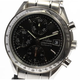 Omega Speedmaster 3513.50 Stainless Steel Automatic 39mm Mens Wrist Watch