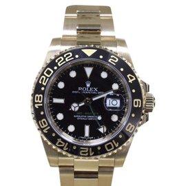 Rolex GMT Master II 116718 18K Yellow Gold/Black Ceramic Automatic 40mm Mens Watch 2016