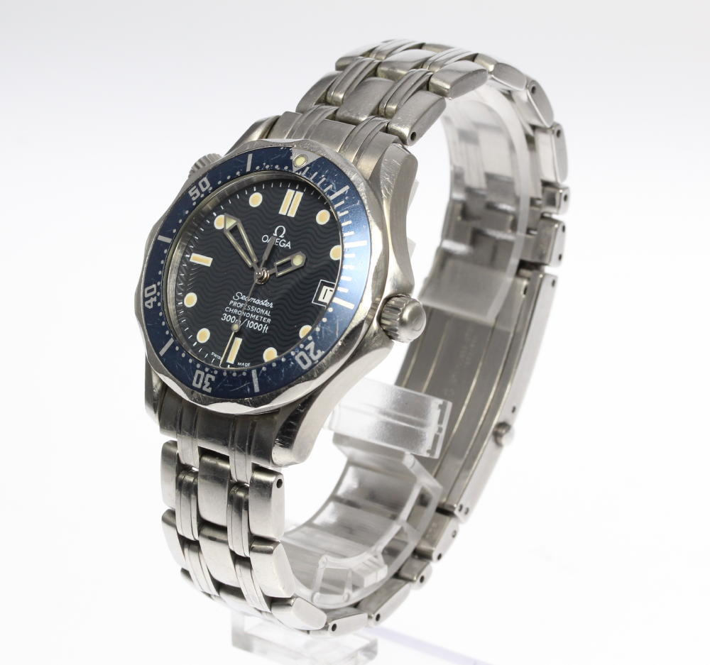 """Image of """"Omega Seamaster 2551.80 Stainless Steel Automatic 36mm Unisex Watch"""""""