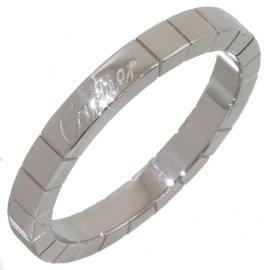 Cartier Lanieres 18K White Gold Ring Size 9.5
