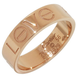 Cartier Love 18K Rose Gold Ring Size 7.75