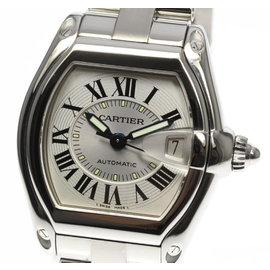Cartier Roadster W62000V3 Stainless Steel Automatic 37mm Womens Watch