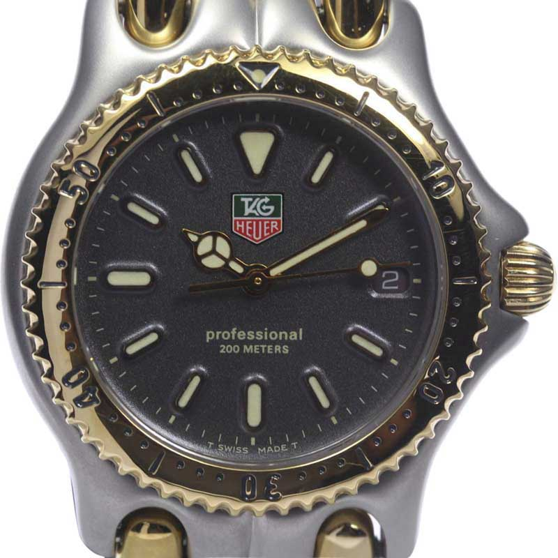 """Image of """"Tag Heuer S/el Wg1221-K0 Stainless Steel and Gold Plated Quartz 34mm"""""""