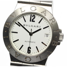 Bulgari Diagono Sport LCV35S Stainless Steel Automatic 35mm Mens Watch