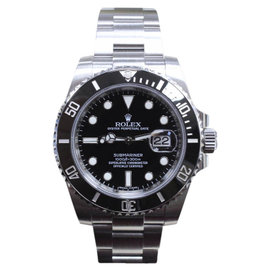 Rolex Submariner 116610 Stainless Steel & Black Dial 40mm Mens Watch