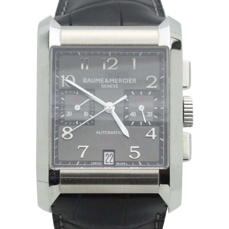 "Image of ""Baume & Mercier Hampton 10030 Stainless Steel 34mm Mens Watch"""