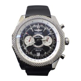 Breitling Bentley Supersports Limited Edition A26364 Stainless Steel & Rubber 48mm Mens Watch