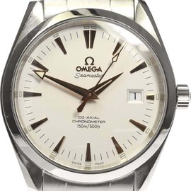 Omega Seamaster Aqua Terra 2503.34 Stainless Steel Automatic Silver Dial 39mm Mens Watch
