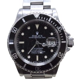 Rolex Submariner 16800 Stainless Steel & Spider Web Dial 40mm Mens Watch