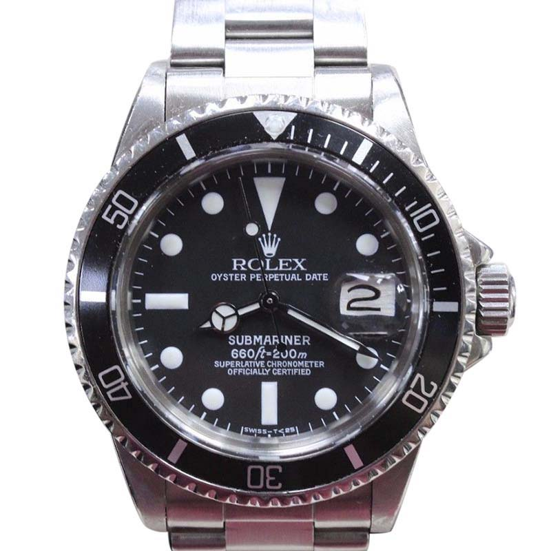 "Image of ""Rolex Submariner 1680 Stainless Steel Black Dial Automatic Vintage"""