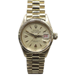 Rolex President Datejust 6517 18K Yellow Gold Automatic Vintage 26mm Womens Watch