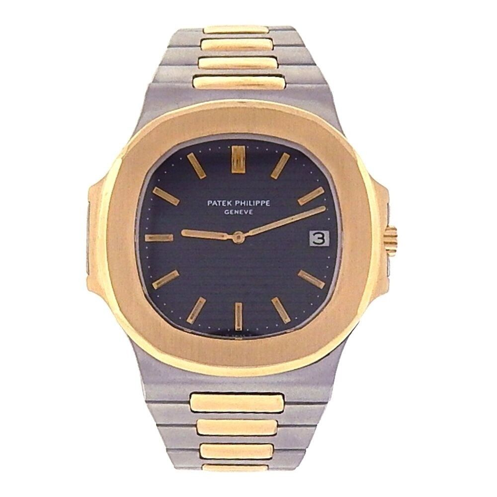 "Image of ""Patek Philippe Nautilus 370011 18K Yellow Gold & Stainless Steel"""