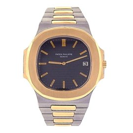 Patek Philippe Nautilus 370011 18K Yellow Gold & Stainless Steel Automatic 42mm Mens Watch