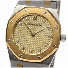 Audemars Piguet Royal Oak 66339SA.0.0722SA.04 18K Yellow Gold / Stainless Steel Quartz 25mm Womens Watch