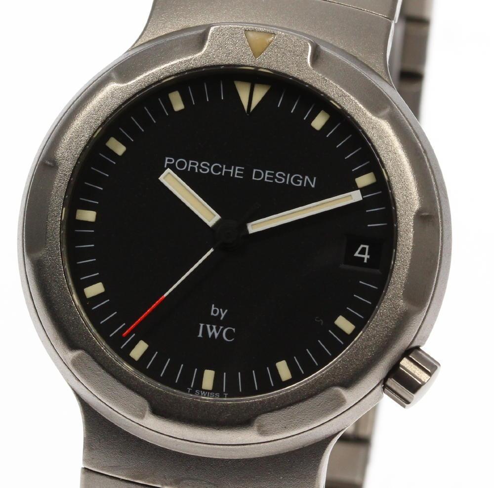 "Image of ""Porsche Design By IWC Titanium Automatic 34mm Men's Watch"""