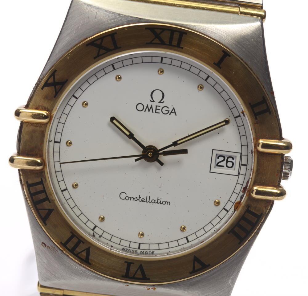"""Image of """"Omega Constellation Stainless Steel / 18K Yellow Gold 32mm Mens Watch"""""""