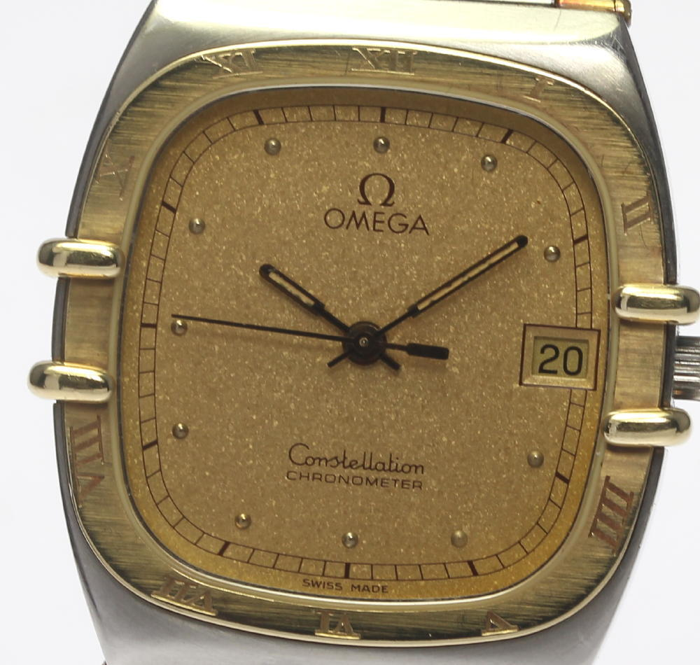 """Image of """"Omega Constellation Stainless Steel / 18K Yellow Gold Quartz 29mm Mens"""""""