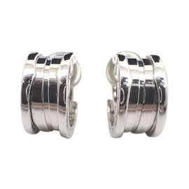 Bulgari B-Zero 1 18K White Gold Earrings