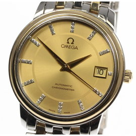 Omega DeVille 4374.15 Stainless Steel & Yellow Gold Automatic 35mm Mens Watch