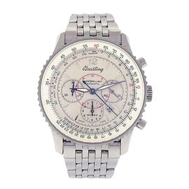Breitling Montbrillant Navitimer A41330 Stainless Steel Automatic 38mm Womens Watch