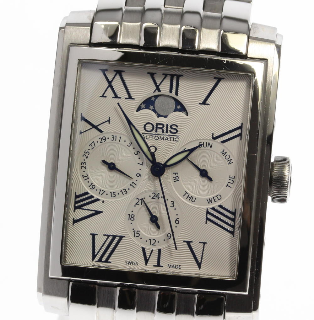 "Image of ""Oris 7658 Stainless Steel Automatic 33mm Mens Watch"""
