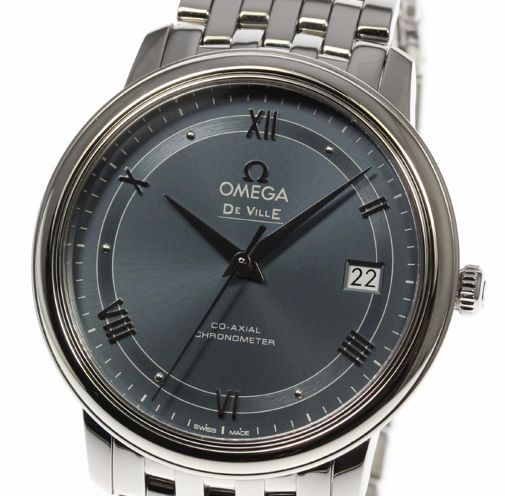 """Image of """"Omega Deville 424.10.37.20.03.002 Stainless Steel Automatic 37mm Mens"""""""