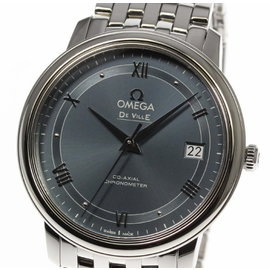 Omega Deville 424.10.37.20.03.002 Stainless Steel Automatic 37mm Mens Watch