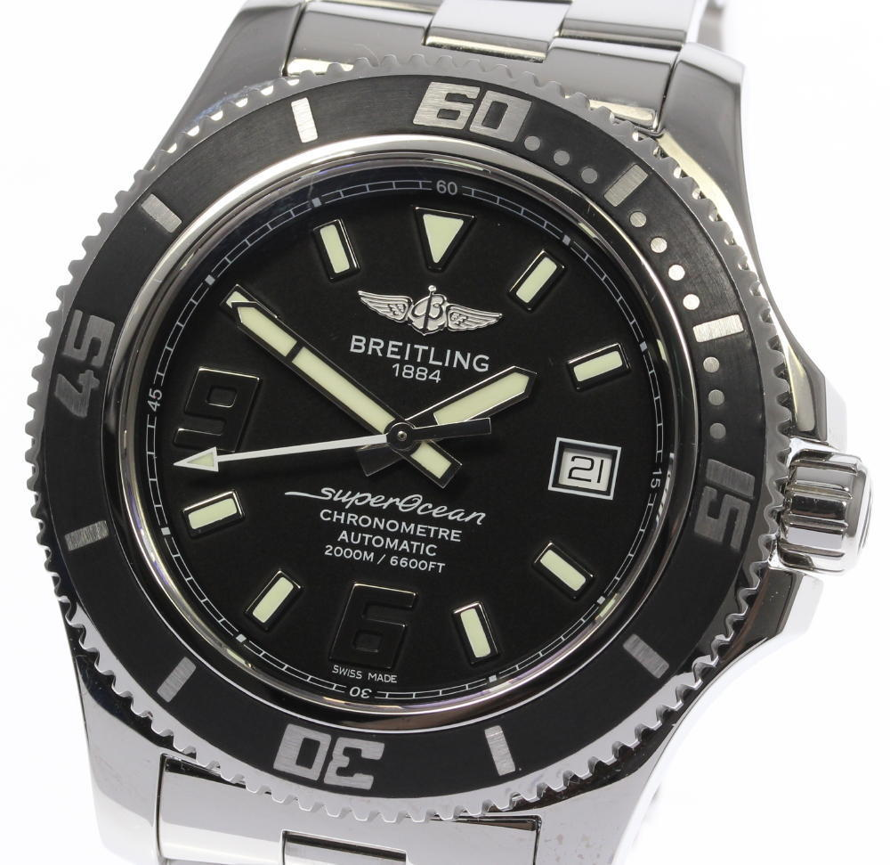 "Image of ""Breitling Superocean A17391/a189B77Prs Stainless Steel Automatic 44mm"""