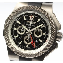 Breitling Bentley GMT Chronograph EB0432 Titanium 49mm Automatic Mens Watch